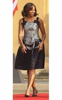contra la crisis yo elijo...COSER: Patrón gratis vestido de Michelle Obama