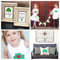 St. Patrick's Day is right around the corner. Get ready for the big green day with these simple DIY projects. http://www.hgtv.com/handmade/6-easy-handmade-ideas-for-st-patricks-day/pictures/index.html?soc=pinterest