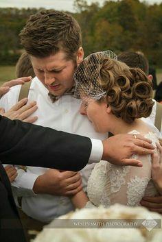 Ohhhh I want this at my wedding. Lots of prayers for my husband...ha ha ha!