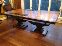 The most incredible dining table I have ever seen.