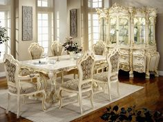 Victorien Salle, Style Victorien, Françaises Provinciale, Manger Meubles, Toiles, Salles, Ambiance, Cuisine, Maison