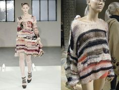 crochet knit unlimited: What to do with yarn leftovers, matching colors and Rodarte