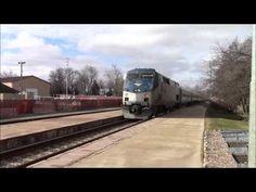 Amtrak ran to Niles. - YouTube