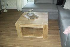 Leuke salontafel van oud steigerhout