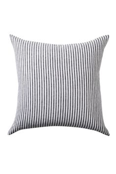 Hampton Stripe Linen Cushion at EziBuy Home Australia. Buy homeware and gifts at exceptional value. Striped Cushions, Striped Linen, Cushions Online, Online Clothing Stores, The Hamptons, Bed Pillows, Living Room, Shop, Blanket