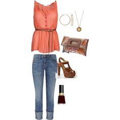 cute, created by ktrahz on Polyvore