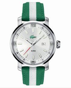 Lacoste Men's Striped Watch