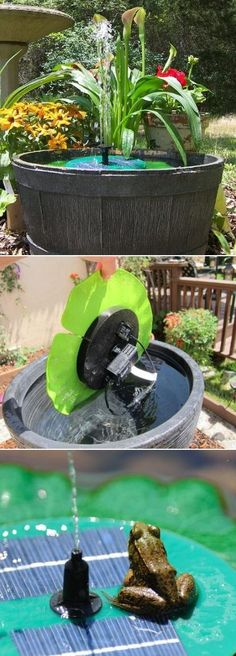 Smart Solar Aquatic Range Floating With Fountain