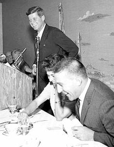 JFK and Interior Secretary Stewart Udall. From Arizona Daily Star Caroline Kennedy, John F Kennedy, Senator Kennedy, John Junior, John Fitzgerald, Daily Star, Us History, Jfk, Presidents