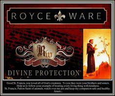 RW~ Divine Protection PetWare... www.royceware.com