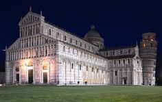 Piazza dei Miracoli by night, Pisa