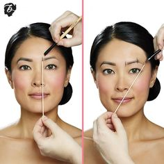 One of the biggest myths of brow grooming is that one size fits all. Put down those stencils & opt for a custom Benefit brow mapping! One of the biggest myths of brow grooming is that one size fits all. Benefit Brow, Benefit Cosmetics, Eyebrow Makeup Tips, Contour Makeup, Eyebrow Trends, Makeup Brush, Beauty Make-up, Beauty Hacks, Beauty Trends
