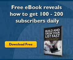 Free eBook Reveal How To Get 100-200 Subscribers Daily - Imagine if you can get started to make money online as fast as tomorrow night... Get it now!