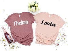 42fe1dae Best Friend Gifts Thelma Louise Friends Shirt Friendship Bestie Bestest  Shirts Matching T Shirts For Friends Free Shipping Not Vinyl