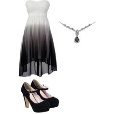 Lily Ombre by penguins-lily on Polyvore featuring polyvore fashion style