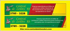 CENTRAL DE LEILOES  DO RS: SERÁ REALIZADO NO DIA 03.11.2014 NA PREFEITURA SER...