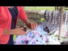 VIDEO:  Rag rug Weaving, Part 4:  Splicing Yarn (fabric) - by FibreArtsBootcamp on YouTube   (5 1/2 minutes)