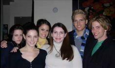 Twilight BTS Kristen Stewart Ashley Greene Nikki Reed Stephanie Meyer Peter Facinelli Jackson Rathbone