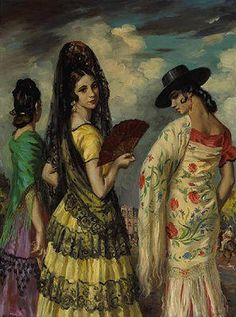 Manolas . George Owen Wynne Apperley (1884-1960).