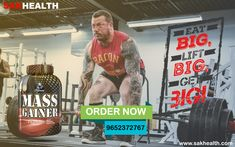 Mass Gainer is the best nutrition to build muscle and mass. which is available online in india at sakhealth free delivery available. Mass Gainer, Health Eating, Build Muscle, Free Delivery, Nutrition, India, San, Goa India, Gain Muscle