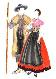 Trajes Tradicionales del Somontano del Moncayo, Zaragoza, Aragón