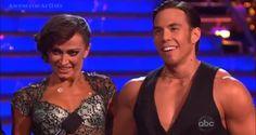 Dancing With The Stars Season 15 Fall 2012 Apolo Anton Ohno and Karina Smirnoff Tango