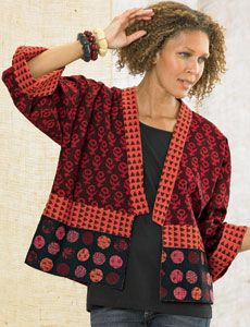 Sikkim Jacket - True Red/Chocolate  ware   marketplace india