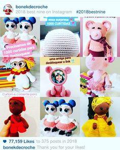 feed_image Crochet Hats, Teddy Bear, Toys, Minis, Animals, Image, Amigurumi Doll, Xmas Ornaments, Diy Home