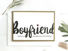 Excited to share this item from my shop: Birthday Card Boyfriend, Boyfriend, Birthday Card, Bo Birthday Card Boyfriend, Anniversary Cards For Boyfriend, 50th Anniversary Cards, Gifts For Your Boyfriend, Boyfriend Boyfriend, Boyfriend Presents, Harry Potter Birthday Cards, 50th Birthday Cards, 30th Birthday Gifts