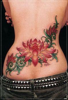tatuagem lotus colorida - Recherche Google