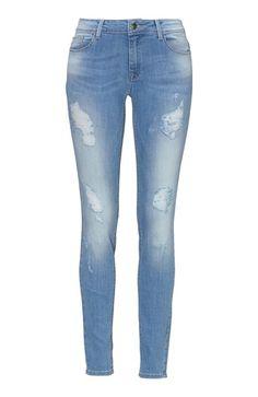 Mega cool ONLY Jeans Ultimate Lysebl? ONLY Underdele til Dame til hverdag og fest