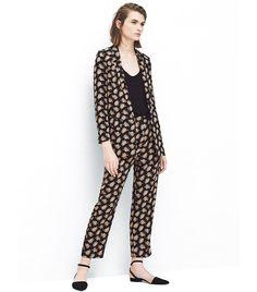 How to Wear Bold Prints Like a Fashion Pro Fall Fashion Outfits, Autumn Fashion, Fashion Tips, New York Fashion Week Street Style, Stylish Coat, Inspiration Mode, Printed Blazer, Costume, Blazers For Women