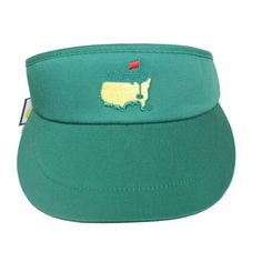 Masters Golf Green Visor - Keep the sun out of your eyes with style thanks  to your official Masters Visor (green) and look stylish while you do it! 7b6192de7254