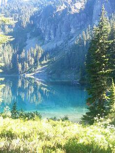 Mowich Lake, Mt. Rainier, Washington state