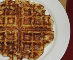 Waffle Week - Rachael Ray (pictured: Crispy Hash Brown Waffles)