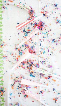 Confetti Party Blowers