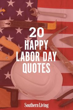 As we rest and reset for the rest of the year, seek happiness in a job well done and become inspired by these words of wisdom. #laborday #labordayquotes #instagramcaptions #southernliving Best Vacation Spots, Best Vacations, Labor Day Quotes, Margaret Mead, Southern Sayings, Booker T, Hard Workers, Happy Labor Day, Go Getter