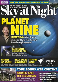 #BBC sky at night was the world's first astronomy magazine. It's got some excellent imagery and reviews of all the kit required to gaze at the stars and understand just what is going on up there.