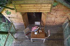Cabane dans les arbres Verrière à 7 mètres pour 4 personnes, cabanes sur l'eau, tonneau, hébergements insolite, piscines, activités, loisirs, animation, nature, vacances, séjour, bretagne