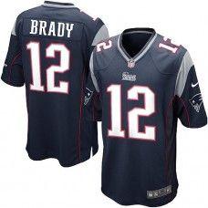 c176dde61c0 Nike Mens New England Patriots Tom Brady Jersey 12 Game Team Color Black  Tom Brady Team