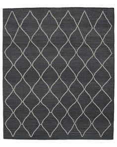 Arlequin Flatweave Rug - Charcoal/Grey