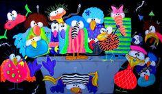 sjove fugle malerier - Google-søgning