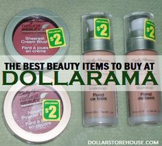 Dollarama has some of the best beauty items available at their stores, and the best thing is – they cost you a fraction of what you would pay elsewhere for the exact same items!