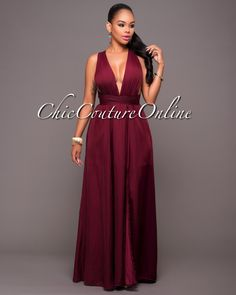 Chic Couture Online - Pensacola Oxblood Multi-Way Maxi Dress, $70.00 (http://www.chiccoutureonline.com/pensacola-oxblood-multi-way-maxi-dress/)