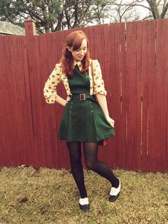 I've got a crush on this look from the ModCloth Style Gallery!