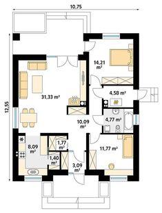Family House Plans, Best House Plans, Cottage Plan, Good House, Floor Plans, How To Plan, Floor Plan Drawing, House Floor Plans