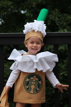 DIY & Crafts that I love Halloween Costume Frappuccino Coffee Kid's Costume 3 piece Jeux de Casino: