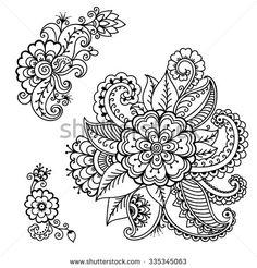 stock-vector-henna-tattoo-flower-template-mehndi-335345063.jpg (450×470)