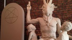 http://pinterest.com/pin/7248049375050706/ Satanist Statue: Ready as Hell but No Place to Go? - ABCNews.com - May 2nd, 2014