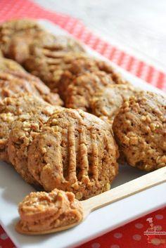 Ces biscuits au beurre de cacahuète sont parfaits accompagnés d'une boisson chaude - Biscuits au beurre de cacahuète - Lolibox - Recettes de cuisine